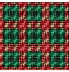 Seamless classic tartan pattern vector image