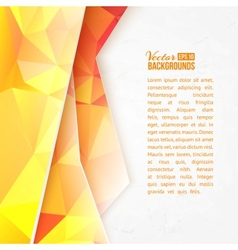 Abstract triangle wave design vector image vector image