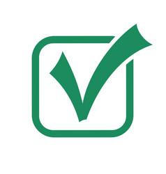 checkmark tick icon vector image