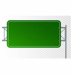 empty urban big board or billboard blank mockup vector image