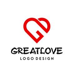 G love logo vector