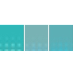 graphical blue gradient in halftone style vector image