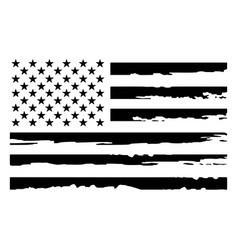 Grunge usa flagamerican flag template vector