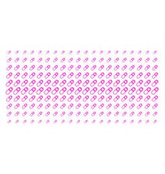 Love granule shape halftone pattern vector