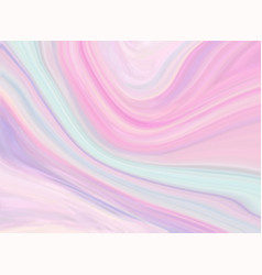 Marble texture background in pastel colors tender vector