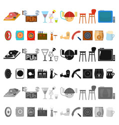 Part of the body limb cartoon icons in set vector