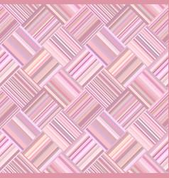 pink geometrical diagonal striped tile mosaic vector image