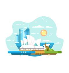 Sydney city skyline vector