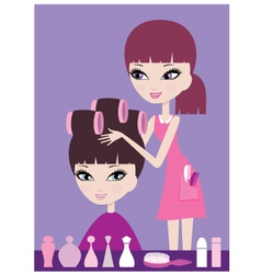 Hairdresser vector
