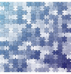 Seamless color puzzles background vector image vector image