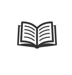book icon eps vector image