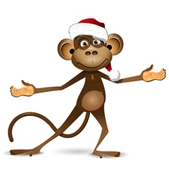 New Year of the Monkey vector image vector image
