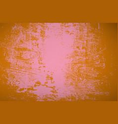 distress orange background vector image