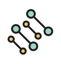 Molecular structure ii vector