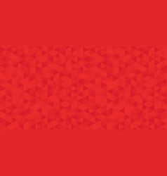 red polygon mosaic bacground business design vector image
