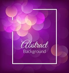 Romantic bokeh background vector