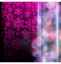Snowflake Christmas background EPS 10 vector