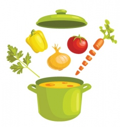 stew vector image vector image