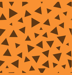 triangle chaotic seamless pattern 101 vector image