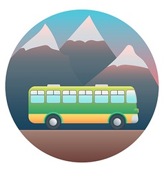 Bus Detailed vector image vector image