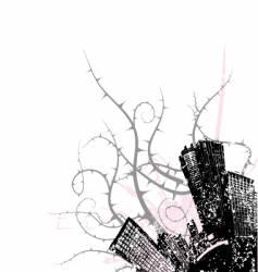 city corner design vector image vector image