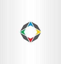 compass icon symbol element logo vector image