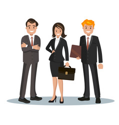 office staff vector image vector image