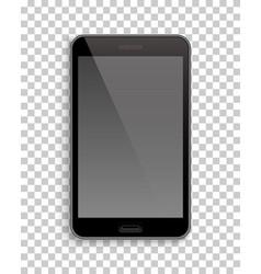 smartphone mockup template transparent background vector image vector image