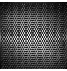 dotted metal background design vector image