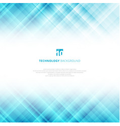 Abstract light blue technology background vector