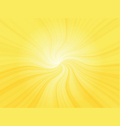 abstract sun curved rays background vector image