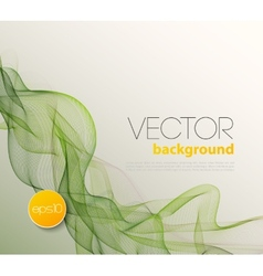 Abstract wave template background brochure design vector image