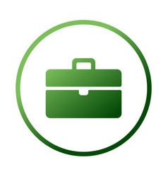 Bag tourist web icon design case icon in vector