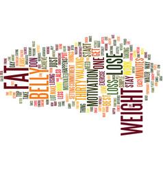 Bellyhands text background word cloud concept vector