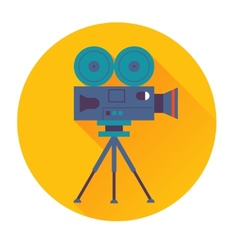 cinema camera icon vector image