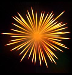 firework bursting background symbol festive vector image