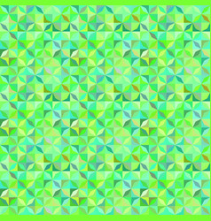 green abstract seamless striped shape pattern vector image