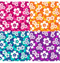 Hawaiian prints vector