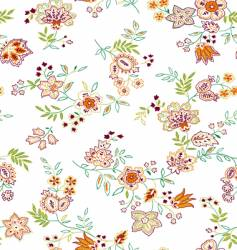 floral print design vector image vector image