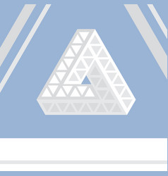 Impossible triangle vector
