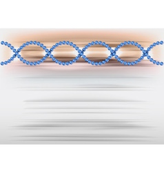 dna abstract vector image vector image