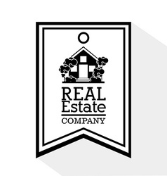 Real estate company vector