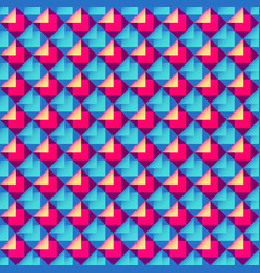 Abstract bright geometric pattern vector