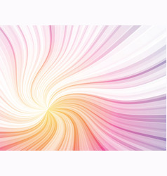 Color curved rays background vector