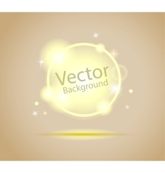 Glowing energy background vector
