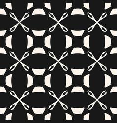 Monochrome seamless pattern in arabian style vector