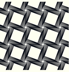 pattern with square print seamlessly repeatable vector image