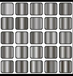 Silver gradient vector