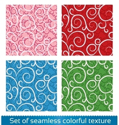 Seamless abstract pattern Floral texture vector image vector image