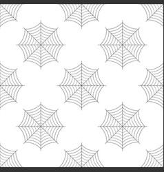 spider web icon seamless pattern cobweb sign vector image